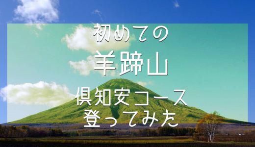 【登山】初めての『羊蹄山(百名山)』倶知安コース登ってみた(北海道・後方羊蹄山・蝦夷富士)