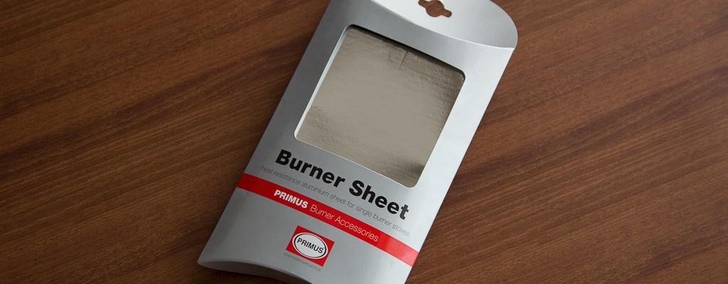 PRIMUS Burner Sheet