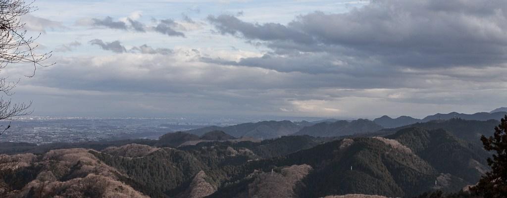 雪解けの高尾山ハイキング