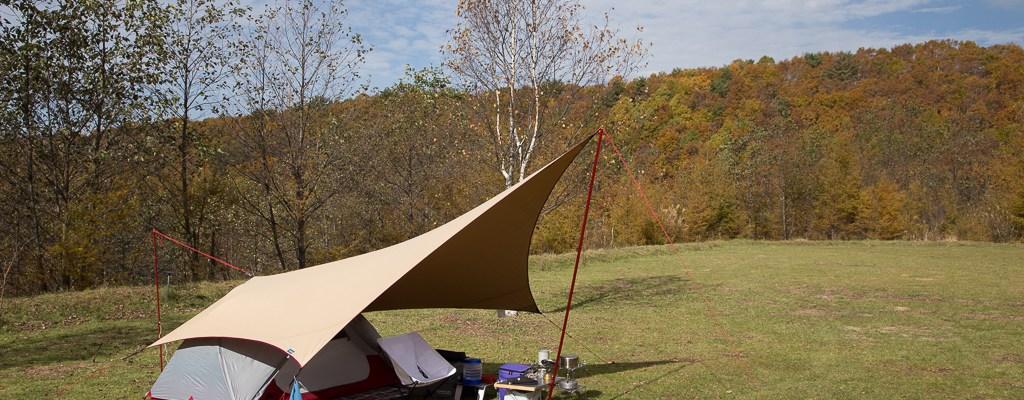 みずがき山自然公園でソロキャンプ #1