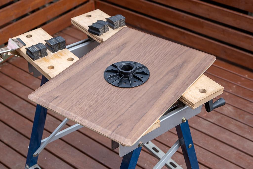 キノコテーブル自作