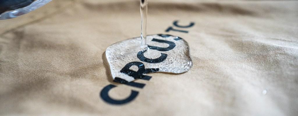 サーカスTCの撥水加工効果