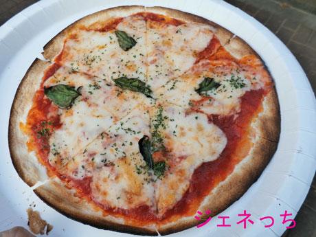 騎西夏祭り2014ピザ
