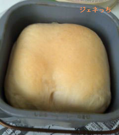パン作り 焼きあがり