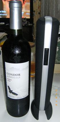 ワインとワインオープナー