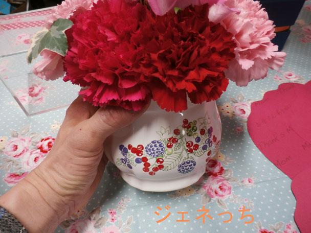 2015母の日オリジナル花器