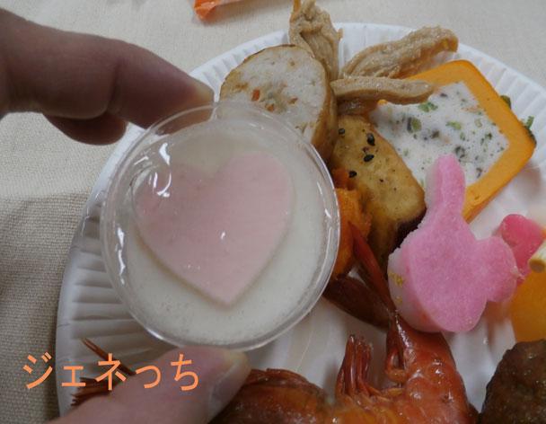 おせち試食杏仁豆腐