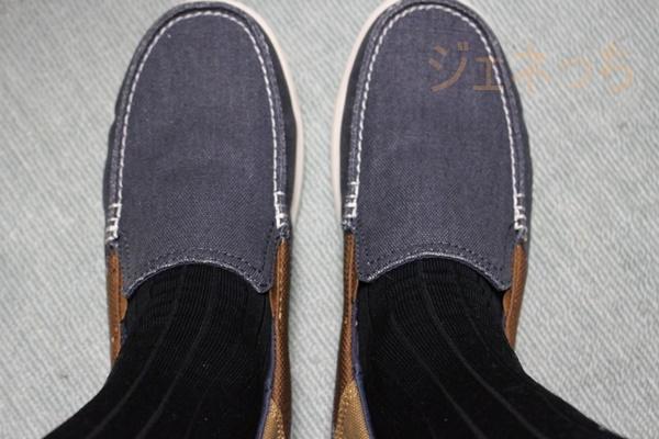 タビオの靴下履いてみた