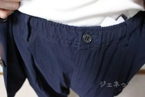 パンツは、ゴムや、ひもがついてたりで、便利です。