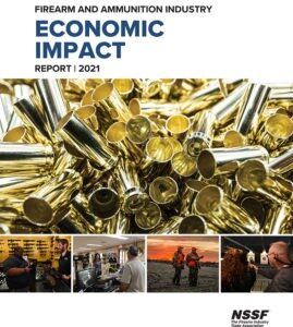 Firearm and Ammunition Industry Economic Impact Report 2021 cover