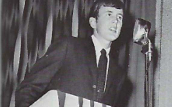 Jeffrey Steenson is pictured at homecoming in Hillsboro, circa 1970. Special to The Forum