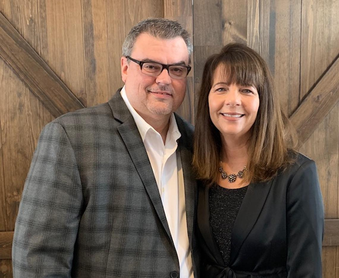 Bethel Church Pastor Andy Veith and his wife, Loree. Special to The Forum