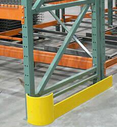 48 single end of aisle rack protectors