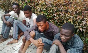 5 Rape suspects