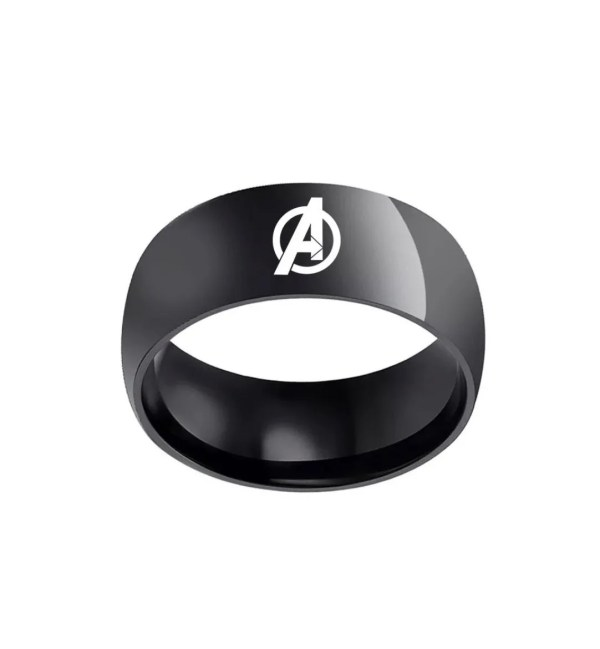 the avenger classic black ring | Marvel Official