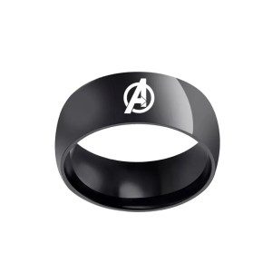 the avenger classic black ring | Marvel Official