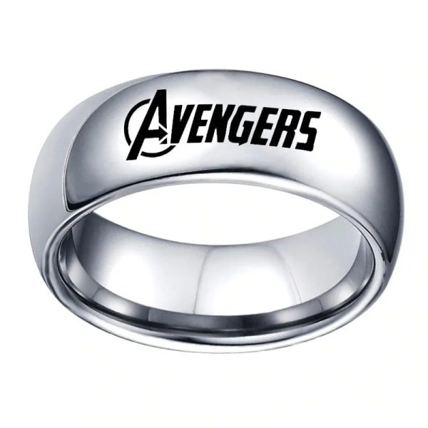 silver avengers classic ring - marvel official online store - marvelofficial.com