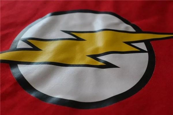 Marvel Flash Logo T-Shirt Print - marvelofficial.com