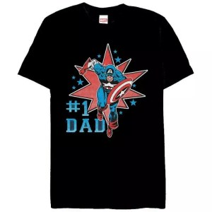 Marvel best dad t-shirt - marvelofficial.com