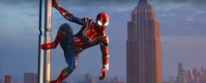 Spiderman iron suit end game - marvelofficial.com