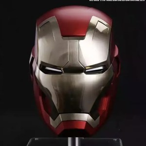 Metal Electronic Mark 43 Iron Man Helmet 1:1 Replica - Marvelofficial.com