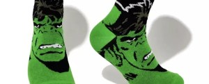 Marvel Socks - Marvel Comics Hulk Crew Socks - Marvelofficial.com