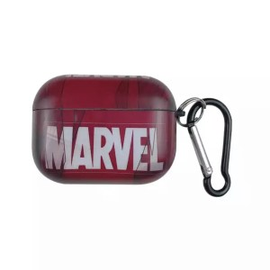 Apple AirPods Pro Silicone Case Marvel Red - Marvelofficial.com