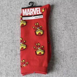 Marvel Socks - Marvel Puppet Iron Man Crew Socks - Marvelofficial.com