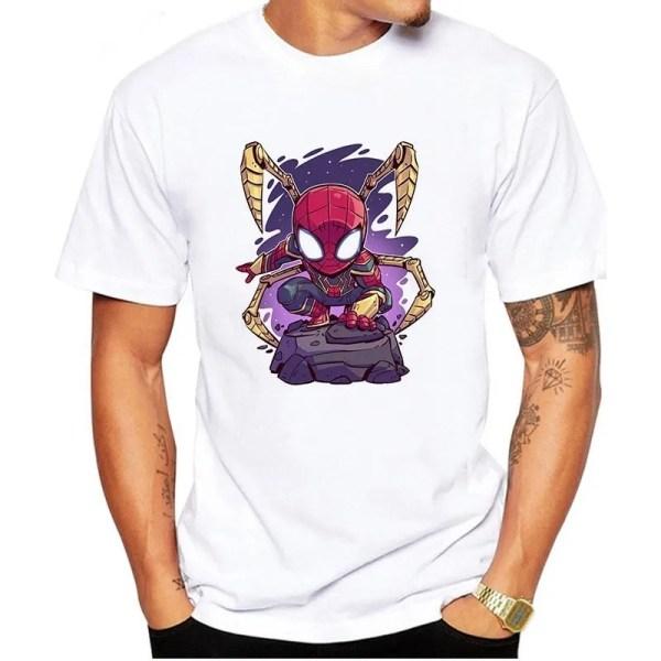 Marvel Iron-spider comic t-shirt - marvelofficial.com
