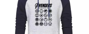 Marvel Avengers Infinity War Characters Hoodie - Marvelofficial.com