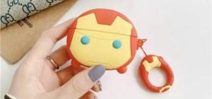 Apple AirPods Pro Case Marvel Iron Man Helmet - Marvelofficial.com