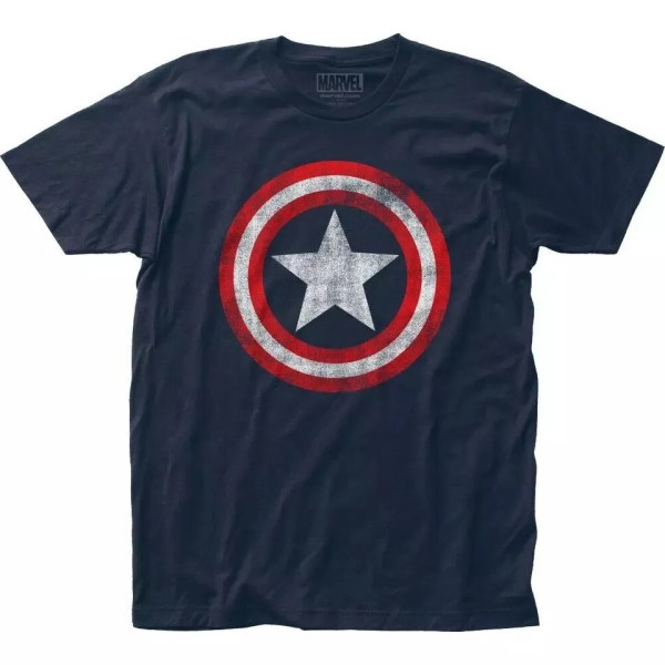Marvel Classic Captain America Shield T-Shirt - Marvelofficial.com