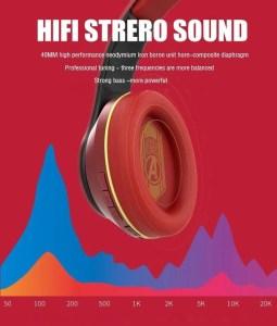 HIFI stereo Marvel Foldable Wireless Headset - Iron Man - Marvelofficial.com