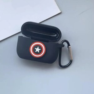 Apple AirPods Pro Case Marvel Captain America Shield