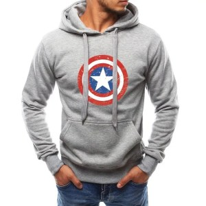 Marvel Captain America Shield Hoodie - Marvelofficial.com