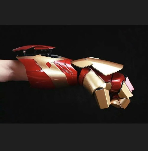 Marvel wearable Iron man laser glove - Marvelofficial.com