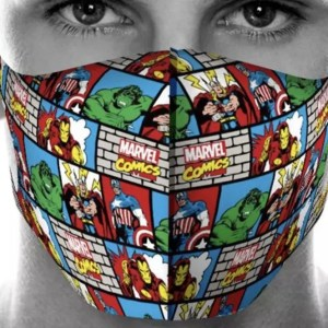 Marvel Comics Face Mask Washable | Marvelofficial.com