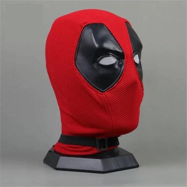 Nylon Deadpool mask 1:1 prop replica - marvelofficial.com