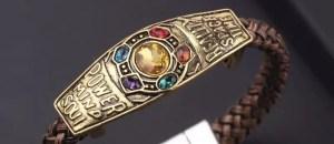 Marvel Tanos Infinity gems Bracelet - Marvelofficial.com