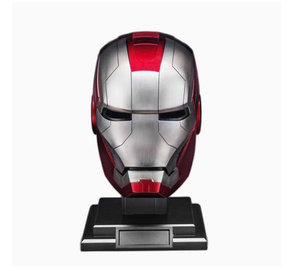 Iron Man Helmet MK 5 - Iron Man Prop Replica - Marvelofficial.com