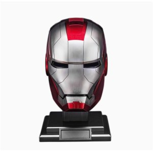 Iron Man Helmet MK 5 - Iron Man Prop Replica - Marvelofficial.com