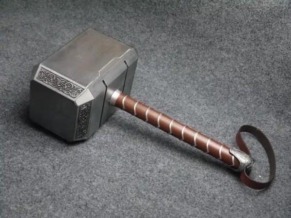 Full Metal Thor Hammer Prop Replica - marvelofficial.com