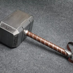 Full Metal Thor Hammer Prop Replica - marvelofficial.com