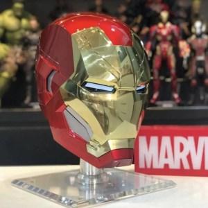 Wearable metal Iron Man helmet mark 46 - marvelofficial.com
