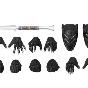 black panther action figure 18cm extra items - marvelofficial.com