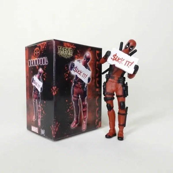 Collectible Mini Deadpool Action Figure V1 8cm