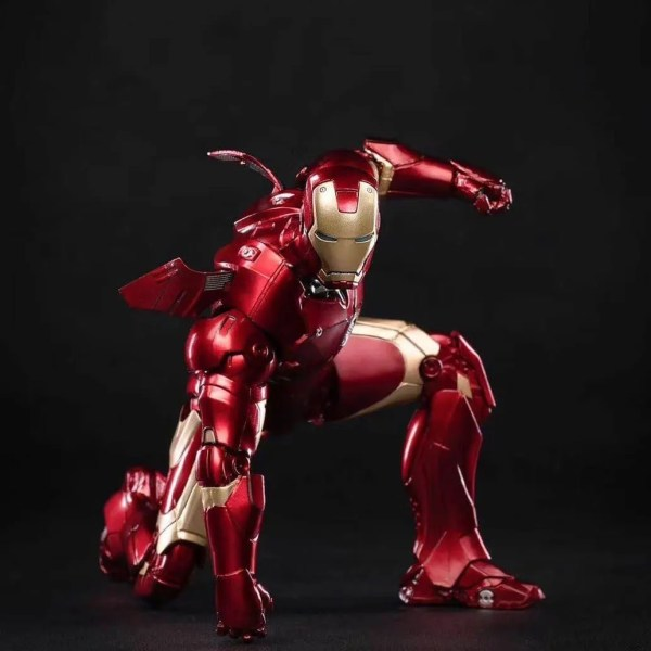 marvel iron man mark 3 action figure - marvelofficial.com