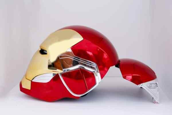 back open iron man mark 85 mask - marvelofficial.com