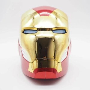 front iron man mark 85 helmet - marvelofficial.com