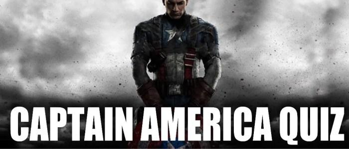 Marvel Captain america quiz - marvelofficial.com
